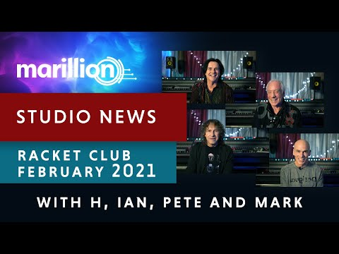 Marillion - Studio News - February 2021