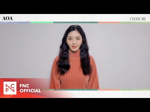 AOA Chan Mi 2021 설 인사 (AOA Chan Mi's message for Lunar New Year's Day)