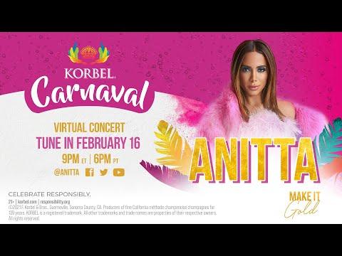 KORBEL CARNAVAL Virtual Concert with ANITTA