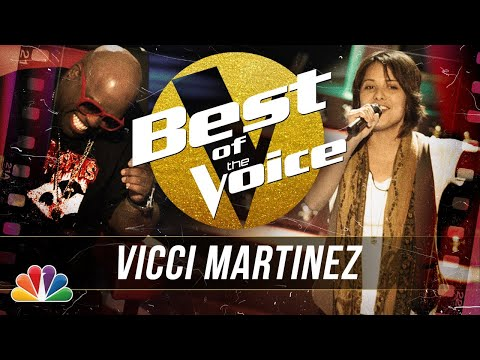 """Vicci Martinez's Soulful Performance of Adele's """"Rolling in the Deep"""" - The Best of The Voice"""