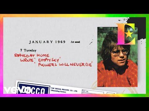 Elton John - The Flowers Will Never Die (Piano Demo / Lyric Video)
