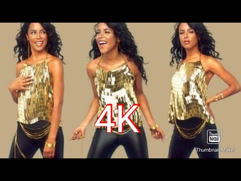 Aaliyah - Don't Know What To Tell Ya [Official Video] - 4K