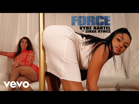 Vybz Kartel, Sikka Rymes - Force (Official Music Video)