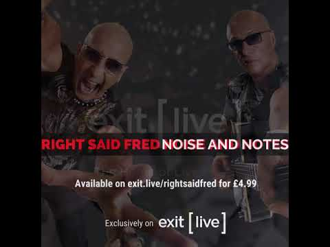 Right Said Fred - Noise & Notes - Don't Talk Just Kiss