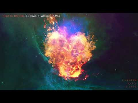 ILLENIUM- Hearts on Fire (CORSAK & Willim Remix- Official Audio)
