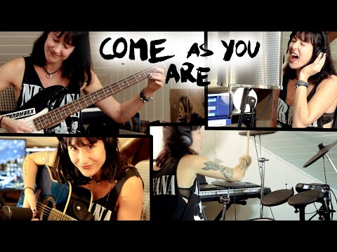 Come As You Are - full rock cover by Sandra Szabo