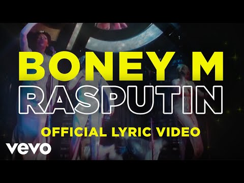 Boney M. - Rasputin (Official Lyric Video - Big and Strong)