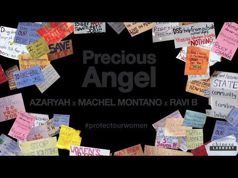Precious Angel (Lyric VIdeo) - Azaryah x Machel Montano x Ravi B
