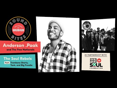 Grubhub Sound Bites: The Soul Rebels + Big Freedia