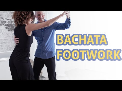 6 Bachata Footwork Dance Steps - Adam Taub & Isolde