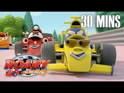Best of Maxi | Roary the Racing Car | Best Episodes Compilation | Cartoons For Kids