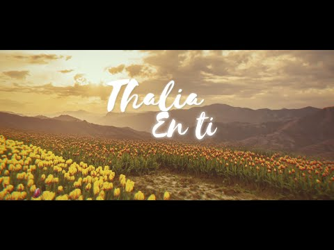 En Ti - Cover by Thalia (Letra / Lyric Video)