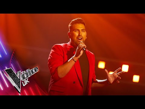 Adam Strong's 'Rise Like A Phoenix' | Blind Auditions | The Voice UK 2021