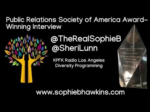 Public Relations Society of America Award-Winning Interview Part 1 | Sophie B. Hawkins & Sheri Lunn