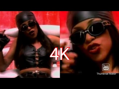 Aaliyah - If Your Girl Only Knew [Official Music Video] - 4K