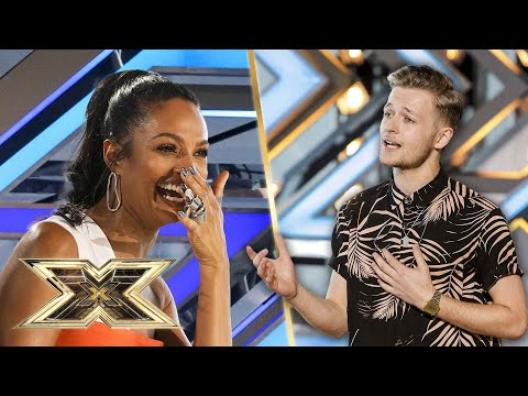 Jordan Rabjohn's audition song is 'Mexicool!' | The X Factor UK