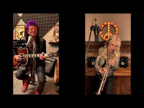 "Mindi Abair and Jim Peterik ""Is This Love"" Unplugged"