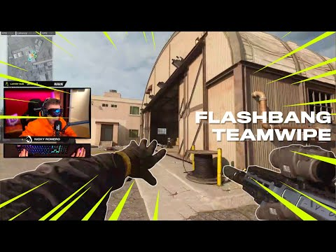 Flashbang TEAMWIPE on Warzone! (Call of Duty)