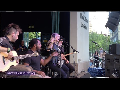 "Mindi Abair & The Boneshakers ""Gone""at the Utah Blues Festival 2019"