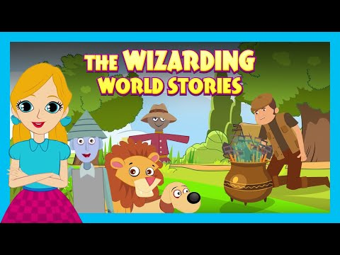The Wizarding World Stories|English Animated Stories For Kids|Bedtime Stories For Kids-Moral Stories