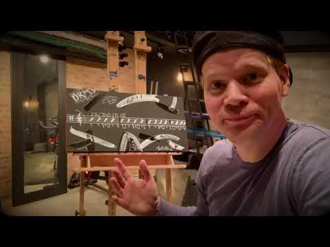 """Brian Culbertson Art Time-lapse: """"Funky Drummer #6"""""""