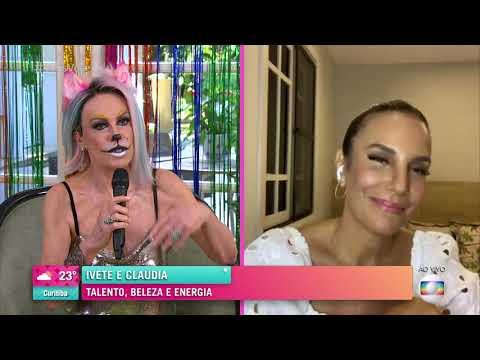 Ivete Sangalo fala sobre live ao lado de Claudia Leitte - O TRIO, Ivete, Claudia e Você