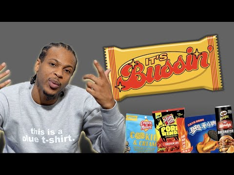 G Perico Tries Spicy Fried Chicken Oreos and Other Weird Snacks | It's Bussin'