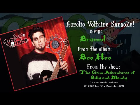Brains! Aurelio Voltaire Karaoke (ENGLISH)