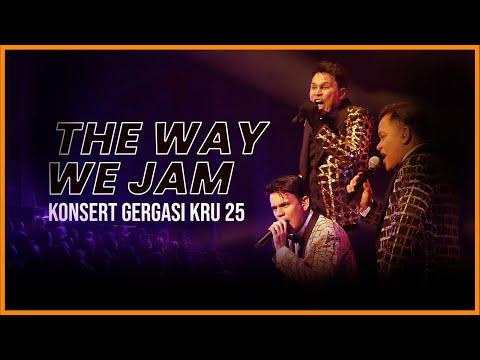 Konsert Gergasi KRU 25 - The Way We Jam
