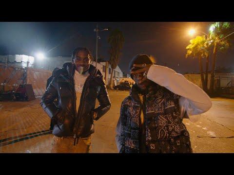 Lil Tjay & 6LACK - Calling My Phone (BTS)