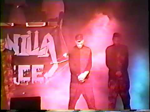 Vanilla Ice dancing with broken arm, before he was famous, opening for Sinbad | Dallas, TX | 1989