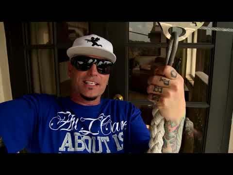Vanilla Ice gives a tour of the house he renovated (and now lives in) on the Vanilla Ice Project