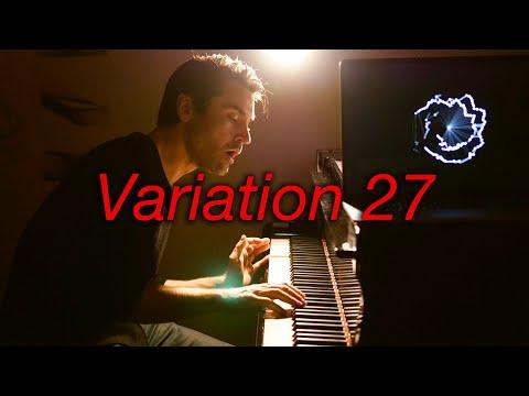 Goldberg Variations Var 27 #BachUpsideDown