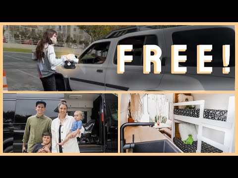 VANLIFE | Family giving away shoes and groceries