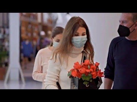 نانسي عجرم في افتتاح مول الجديد في دبي Nancy Ajram in Dubai