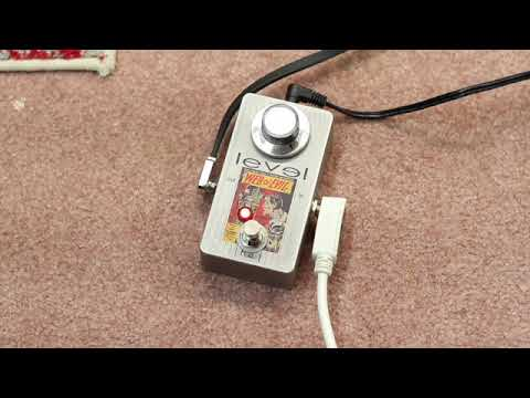 My first pedal built from scratch