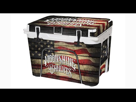 Moonshine Bandits - Launch Cooler Wraps for Ice Chests