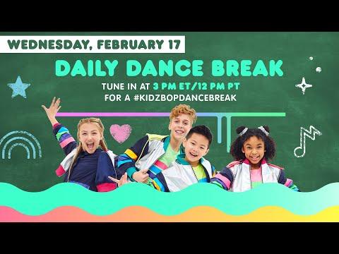 🔴 KIDZ BOP Daily Dance Break [Wednesday, February 17th]