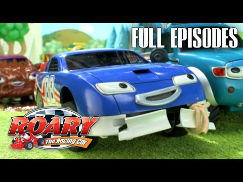 Roary the Racing Car | Best of Tin Top | Best Episodes Compilation | Cartoons For Kids