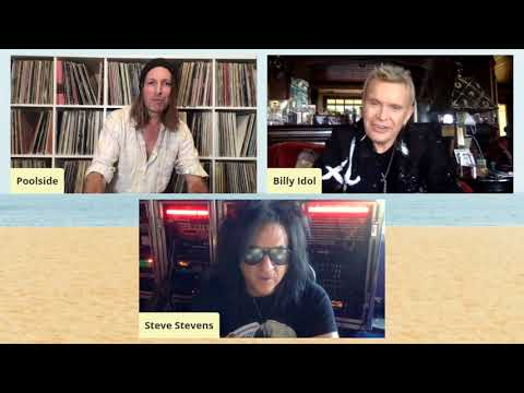 Poolside Presents: Pacific Standard Time Episode 09 – Billy Idol & Steve Stevens
