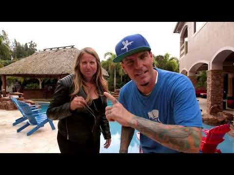 Vanilla Ice talks about home decorating and lighting line