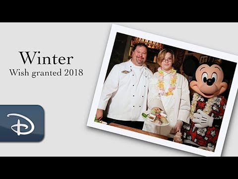 The Wish Effect: A Random Act of Kindness Nurtured Winter's Love of Cooking | Disney & Make-A-Wish