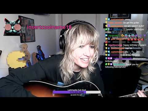 Ladyhawke | Twitch Clip Series_Grungy Happy Birthday