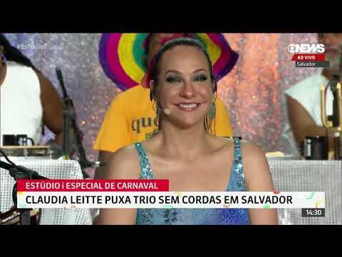 Claudia Leitte puxa trio sem cordas em Salvador - Carnaval 2020