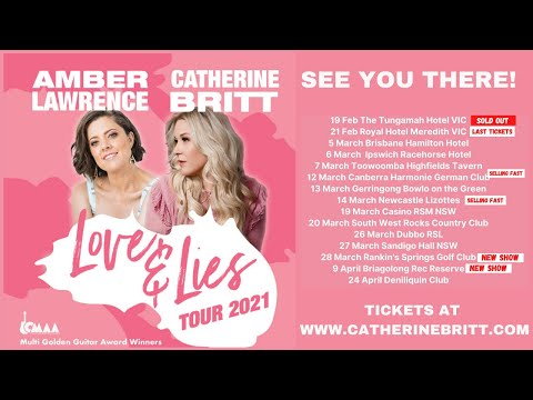 Tour Diary - The Love and Lies Tour is Under Way!!