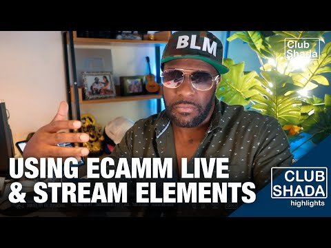 I started using Stream elements with Ecamm for my live streams | Club Shada