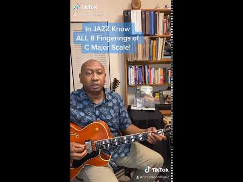 In Jazz Know All 8 Fingerings Of the C Major Scale! #Shorts #majorscale