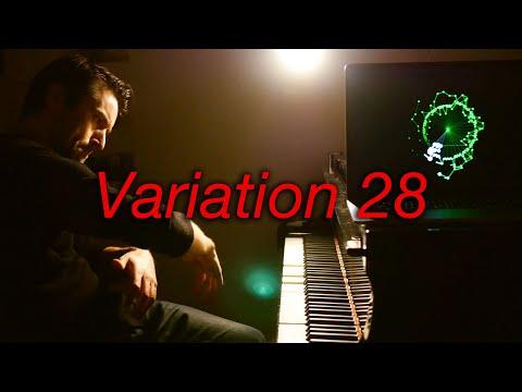 Goldberg Variations Var 28 #BachUpsideDown