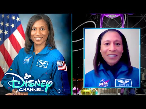 Astronaut Dr. Jeanette J. Epps  | In The Nook | So Fly For Sci | Disney Channel