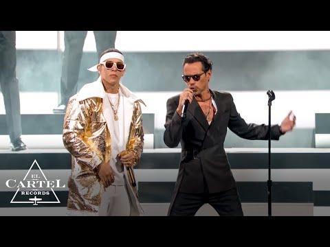 Daddy Yankee y Marc Anthony (Premio Lo Nuestro 2021 ) - En Vivo